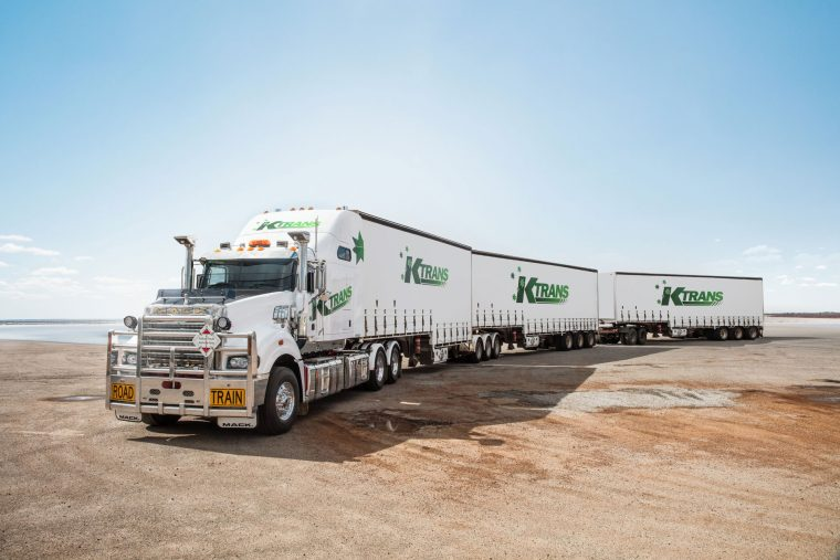 Ktrans Mack Superliner selected as Centre Fold